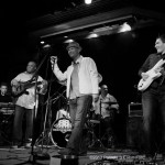 billy with Charles mack band n